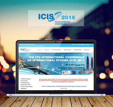 The 6th International Conference On International Studies (ICIS)